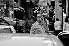 Taxi Driver in Athens, 2015