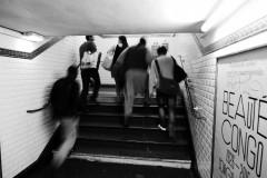 """Scene in the Metro (""""Beauté Congo""""), Paris, 2015."""