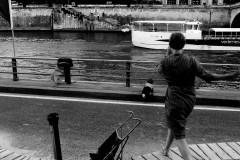 By the Seine, Paris, 2015.