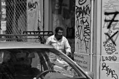 Street Scene, Athens, 2015.