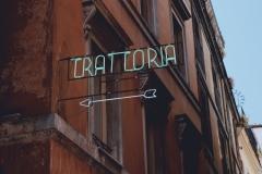 Trattoria, Rome, 2019.